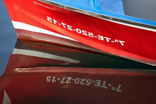 boat red labeled box code