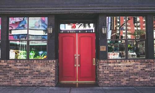 door red wooden panel doors las vegas