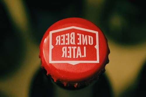 beer top view of bottle cap eco zen boutique