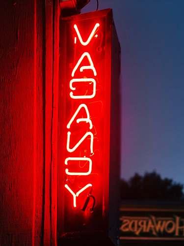 sign Vacancy neon signage vacancy