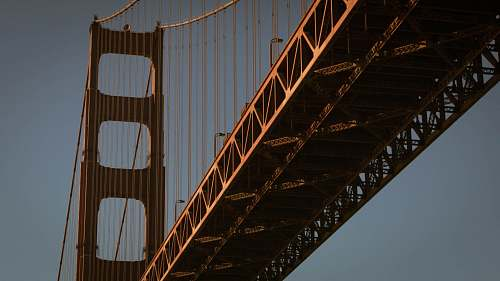 photo bridge low angled photo of Golden Gate golden gate bridge free for commercial use images