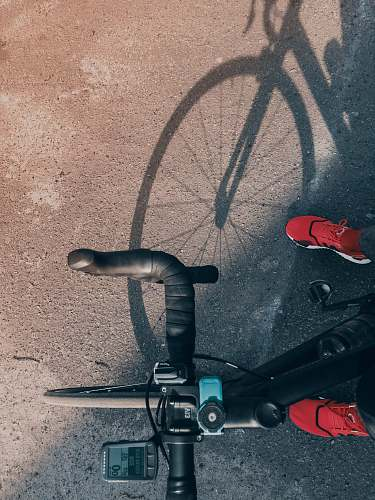 clothing person rides road bike footwear