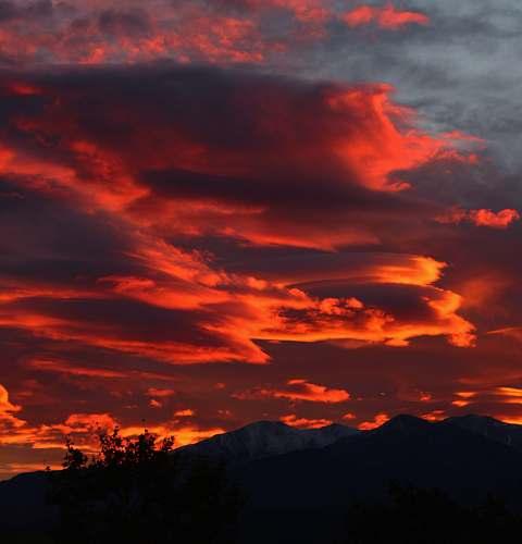 sunrise mountain during sunset sunset