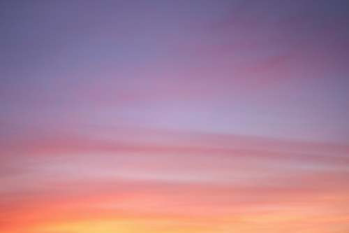 sunset pink, yellow, and purple cloudy sky sunset sky