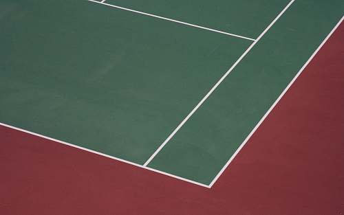 tennis green and brown sports field illustration sport