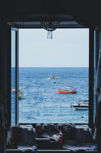 boats photo of boat sailing sea