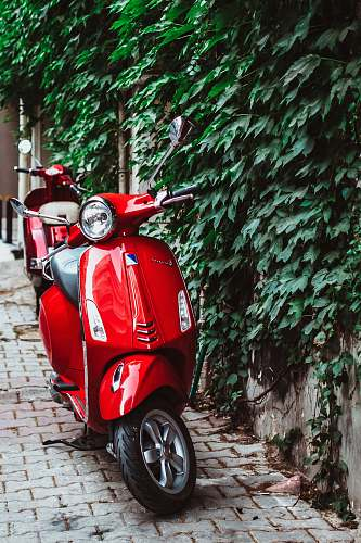 photo scooter red automatic scooter transportation free for commercial use images