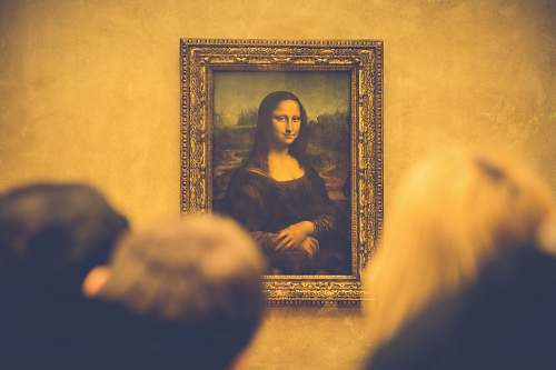 art Mona Lisa painting painting