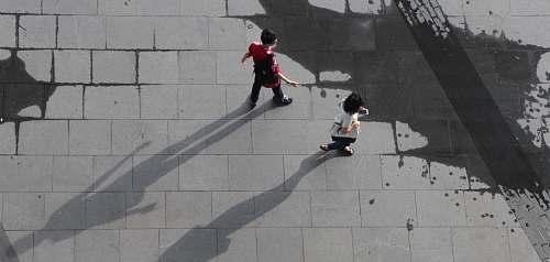 people man and woman walking human
