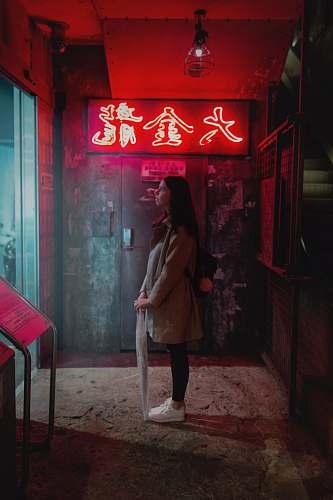 people woman standing indoor human