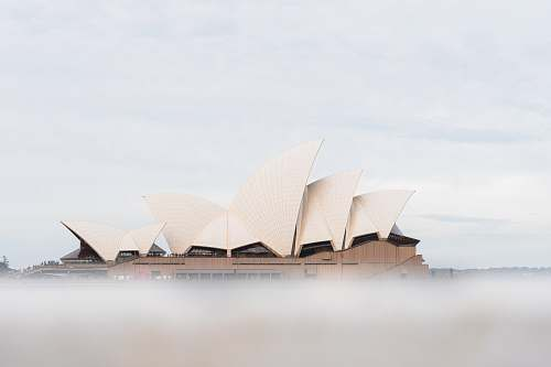 building Sydney Opera House, Australia sydney