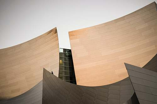 crowd curve brown building architecture concert