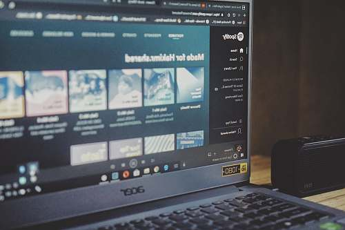 computer black Acer laptop pc