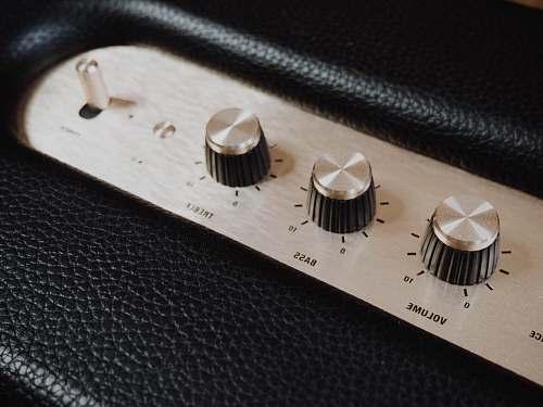 amplifier black and white guitar amplifier wristwatch