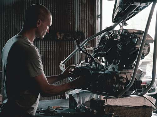 person man holding engines people