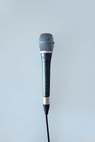 toronto black and gray corded microphone canada
