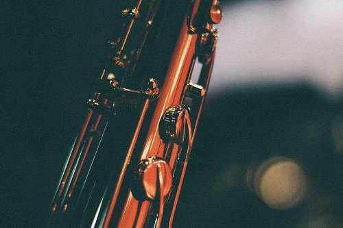 instrument closeup photo of flute saxaphone
