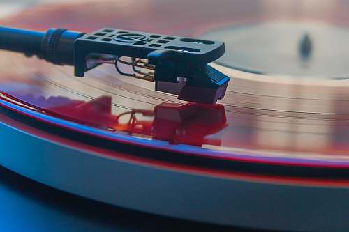 hitchin closeup photography of vinyl record in vinyl player united kingdom