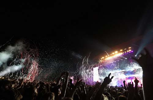 concert concert party crowd