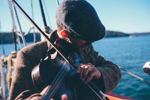 violin man playing violin fiddle