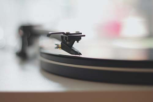 wallpaper shallow depth of field photo of turntable vintage