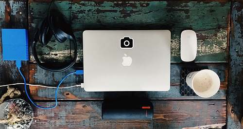 computer silver MacBook electronics
