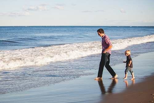 person person standing on seashore beach