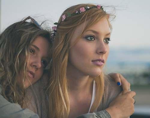 woman two women close up photography girls