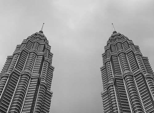 grey white and black concrete building architecture