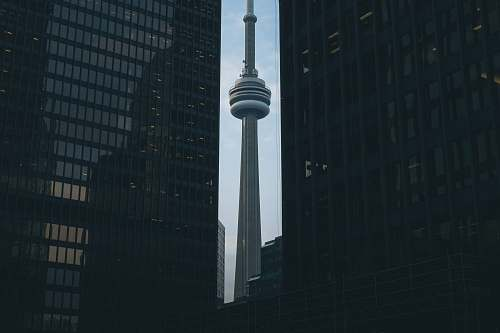 city CN Tower, Toronto Canada architecture