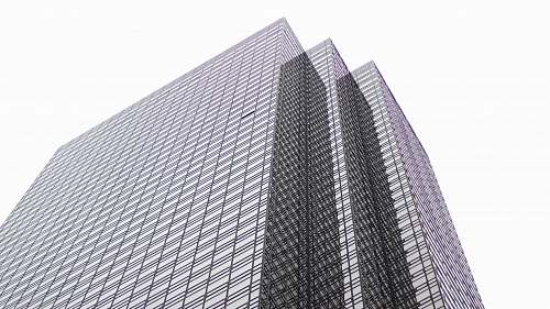 grey high-rise building architecture