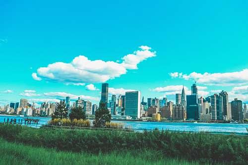 city landscape photography of New York skyline town