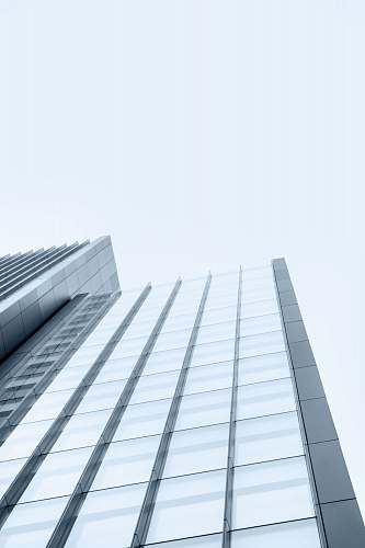 city low-angle photography of glass high rise building architecture