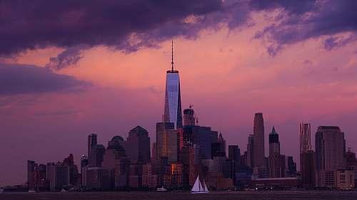 city panoramic photography of city skyline new york