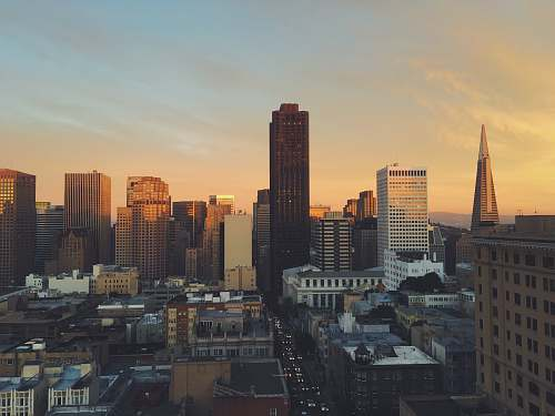 city panoramic photography of high rise building san francisco