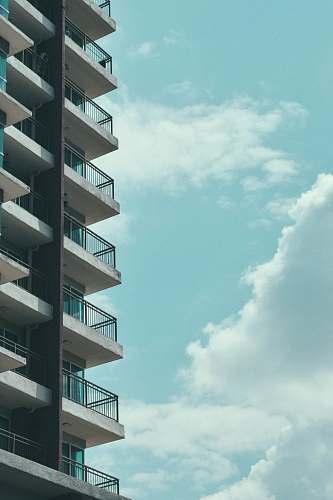city white and black concrete building urban