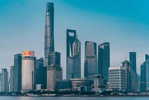 building Hongkong skyline town