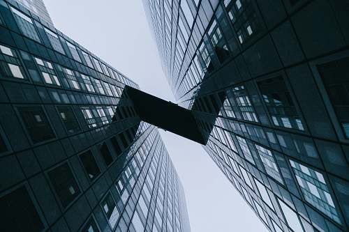 building low angle photography of highrise building architecture