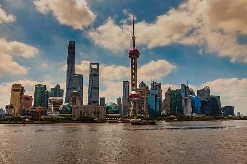 building skyline photography of Beijing, China during daytime metropolis