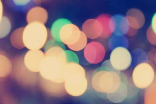 light bokeh lights photography abstract