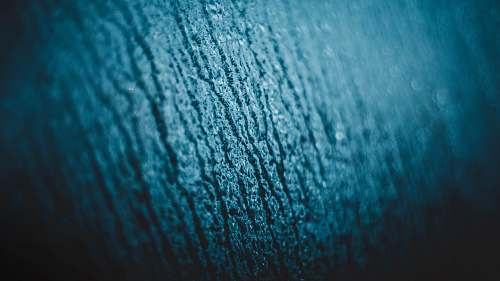 texture wet blue surface wool