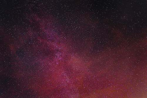 night pink, red, and black digital wallpaper galaxy