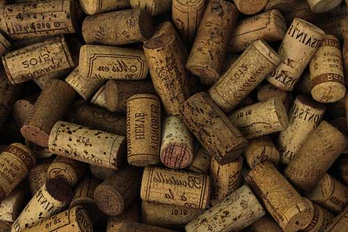 cork assorted printed cork stoppers wine