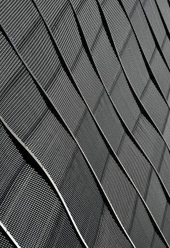 black-and-white black and white striped textile grey
