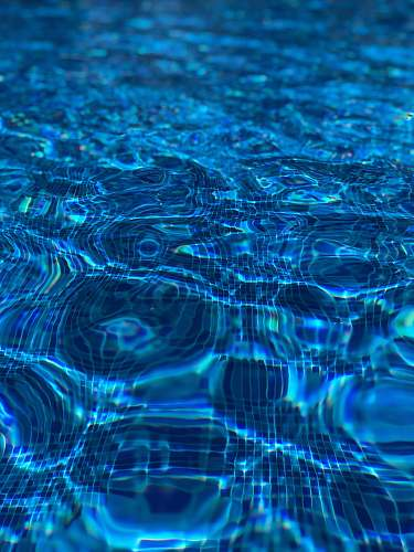water blue body of water blue