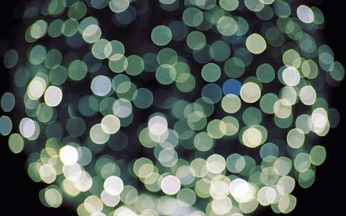 green bokeh photography pattern