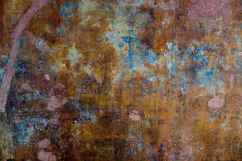 rust brown and pink wooden surface berlin
