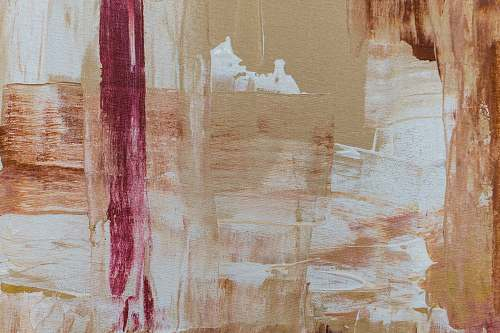 background brown and white abstract painting painting