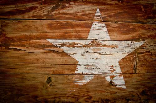 background brown and white wooden star print board brown