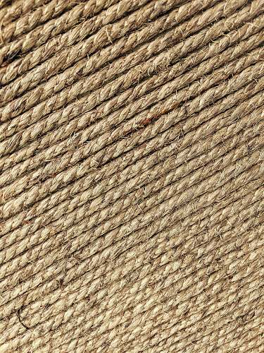 rug brown wicker mat wall